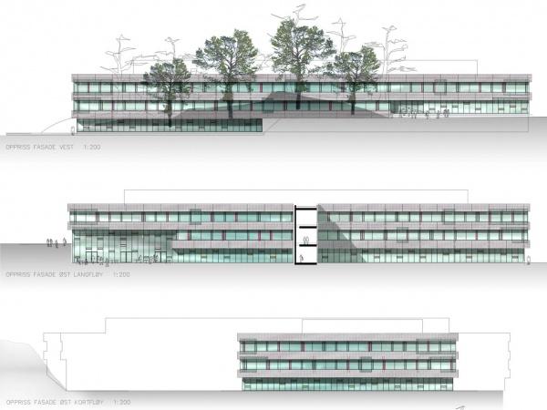Sørlandet kunnskapspark fasader